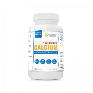 CALCIUM 300mg VITAMINA C 120kaps.