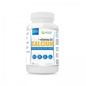CALCIUM 1000mg VITAMINA D3 120kaps.