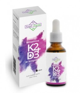 Witamina K2+D3 w kroplach 30ml