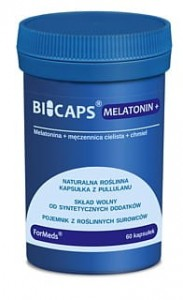 Bicaps Melatonin+ melatonina 60kaps.